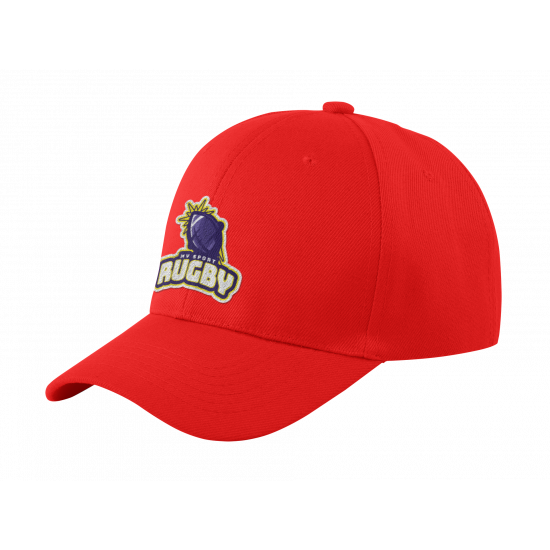 Cap - Rugby - Red