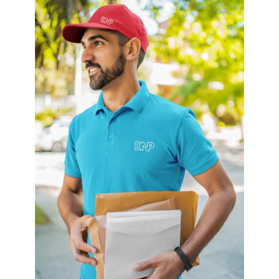 Polo T Shirt Turquoise Blue  - Brand Spanish Polo