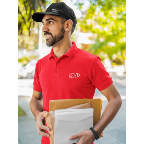 Polo T Shirt Red  - Brand Spanish Polo