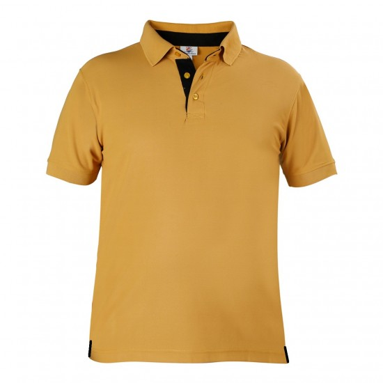 Polo T Shirt Mustard  - Brand Spanish Polo