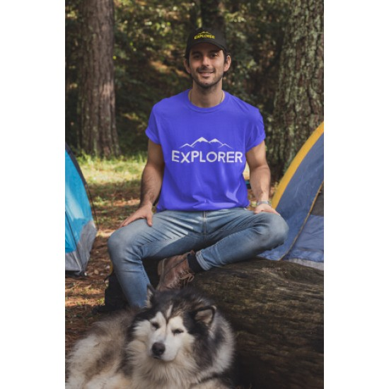 Round Neck - Explorer - Blue