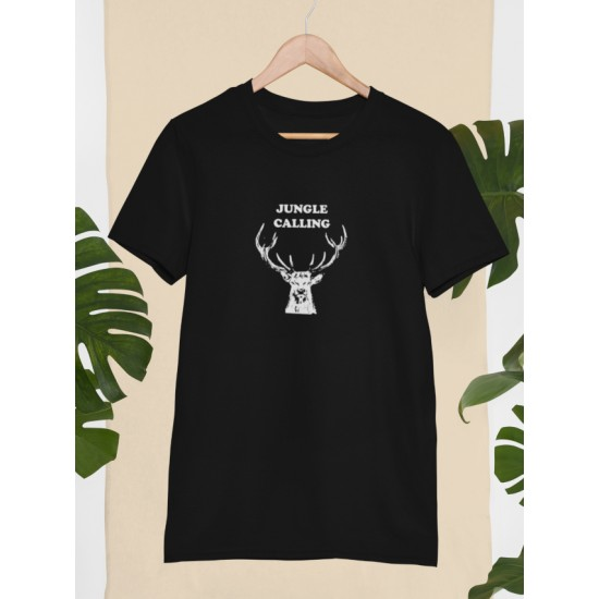 Round Neck - Jungle Calling - Black