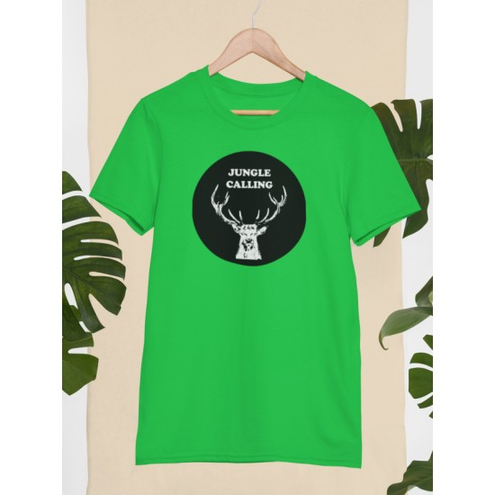 Round Neck - Jungle Calling - Green
