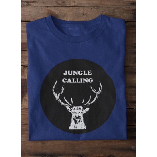 Round Neck - Jungle Calling - Navy Blue