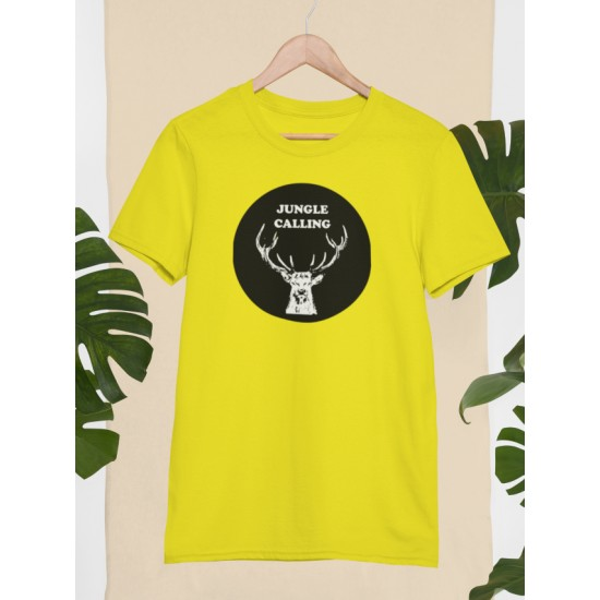 Round Neck - Jungle Calling - Yellow