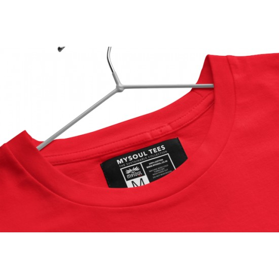 Round Neck - Matter Of Chance - Red