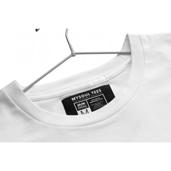 Round Neck - Explorer - White