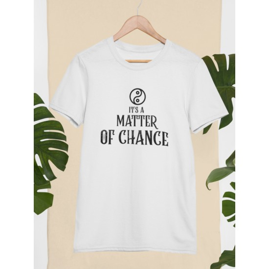 Round Neck - Matter Of Chance - White