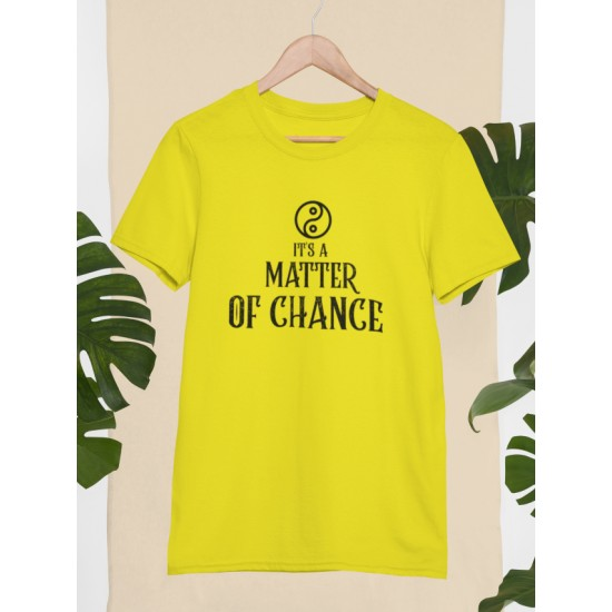 Round Neck - Matter Of Chance - Yellow